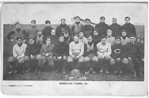 1906 Massillon Tigers postcard v2